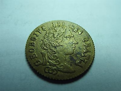 George III In Memory Of The Good Old Days 1797 Large Guinea Gaming Token (5594)