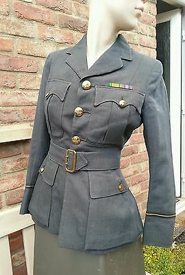 WAAF Officer jacket and cap.