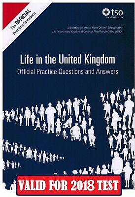Life in the UK United Kingdom Official Practice Questions and Answers 2018  QA