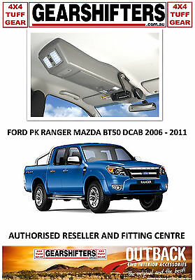 Outback Accessories Roof Console 4X4 Mazda Bt50 Pk Ranger Dual Cab 2006-2011