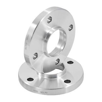 Hubcentric 15mm Alloy Wheel Spacers For Peugeot 106 (Inc GTI) 4x108 65.1 - Pair