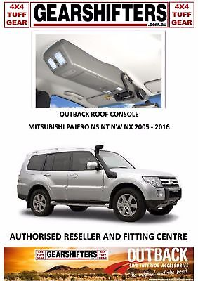 Outback Accessories Roof Consoles, Mitsubishi Pajero Ns Nt 2005 On Uhf Radio 4X4