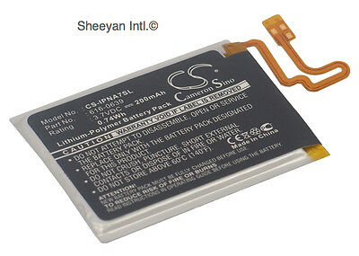 Rechargeable Battery For Apple iPod Nano 7th CE Certified 200mAh IPNA7SL