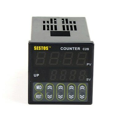 DIN Digital Counter  Relay Out CE 100-240VAC C2S-R-220
