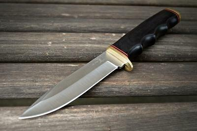"""10"""" TACTICAL HUNTING Survival FIXED BLADE KNIFE Army Military Bowie w/ SHEATH"""
