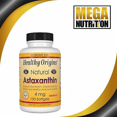 Healthy Origins, Astaxanthin - 4mg x150 Softgels