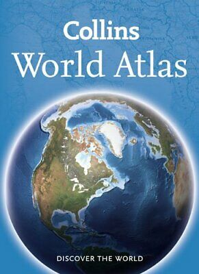 World Atlas: Paperback Edition by Collins Maps Paperback Book The Cheap Fast