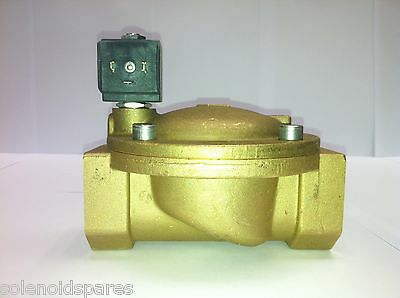 "CEME Solenoid Valves Brass CEME 1 1/2"" BSP  Normally Closed N/C  8618"