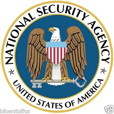 Nsa National Security Agency Bumper Sticker Laptop Sticker Window Sticker