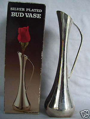 Silverplated Bud Vase Made In Hong Kong in original box