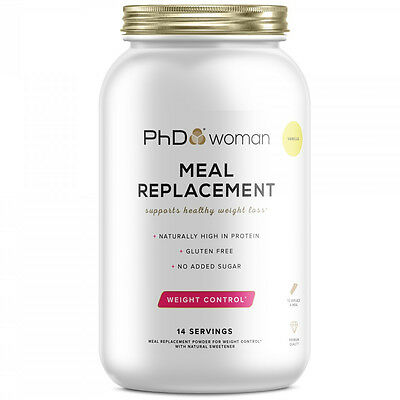 PhD Woman Meal Replacement 770g Weight Fat Loss Diet Slimming Shake Drink Powder