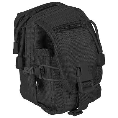 Army Tactical Utility Pouch Versatile Belt Bag Molle System Travel Camping Black