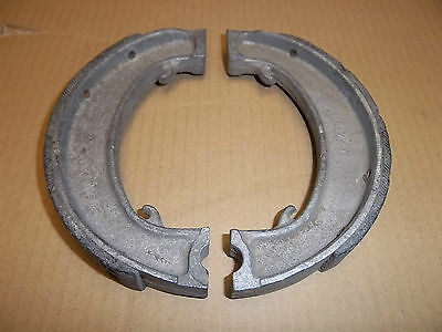 "TRIUMPH GENUINE Tiger 70 80 90 100 5T 6T T100 T110 7"" BRAKE SHOES 7"" 37-0093 NOS"