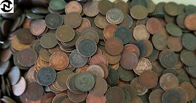 50 Mixed Indian Head Penny Coins (1 Roll) // Avg. Circ. // 1800's-1900's + BONUS