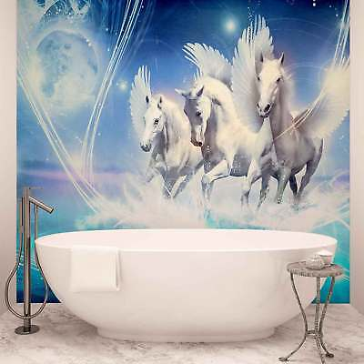 WALL MURAL PHOTO WALLPAPER PICTURE (588P) Horses Girls Bedroom