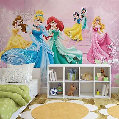 WALL MURAL PHOTO WALLPAPER PICTURE (591PP) Disney Princesses Girls Bedroom
