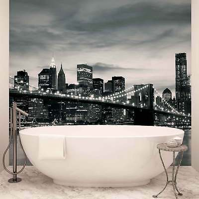 WALL MURAL PHOTO WALLPAPER PICTURE (226PP) New York Brooklyn Bridge City