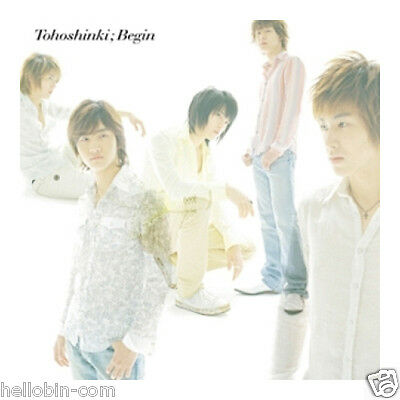 DBSK TVXQ - Begin (Japan 6th Single Album) CD+DVD+Gift Photo