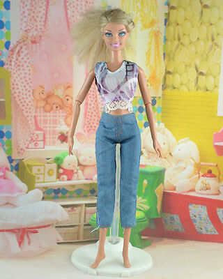 hot New Handmade Party Clothes Fashion Dress for Noble Doll *y52