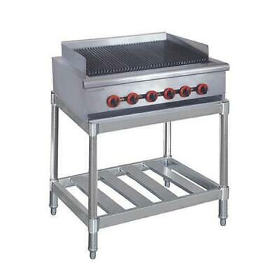 Gas Char Grill 6 Burner with Stand Chargrill Commercial Restaurant Equipment NEW