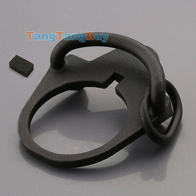 Ambidextrous Sling Attachment Single Point Mount End Plate Sling Swivel Adapter