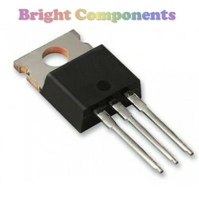 5 x IRF740 N-Channel Power MOSFET (TO-220) - 1st CLASS POST