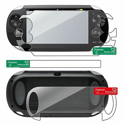 Full Body LCD Screen Protector Cover Guard for Sony PSP Playstation Vita 1000