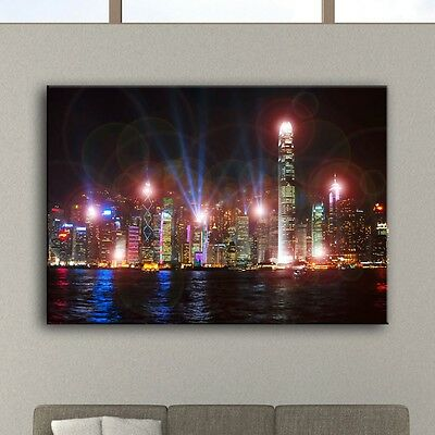 led leucht bild dekoration br cke bild wand flur beleuchtung manhattan bridge eur 13 50. Black Bedroom Furniture Sets. Home Design Ideas