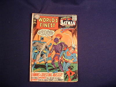 World's Finest Comics Issue #162  Superman & Batman DC 12c Comic