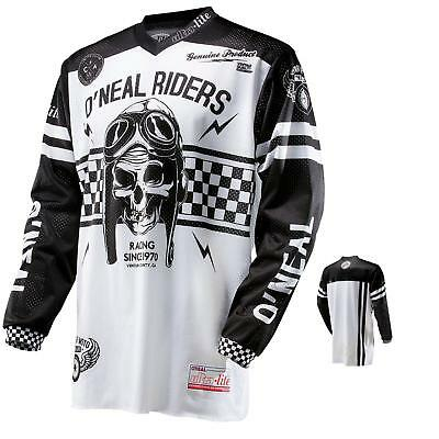 Oneal Ultra Lite LE70 Jersey MX MTB Moto Cross Enduro Mountainbike Schwarz Shirt