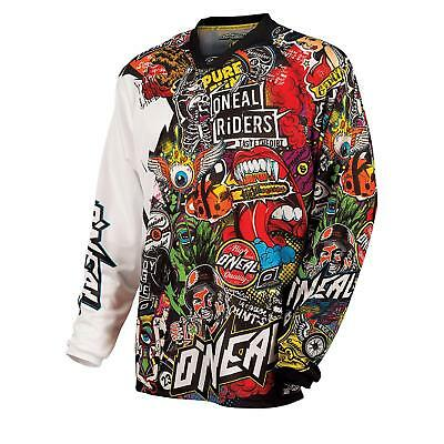 ONeal Mayhem Jersey CRANK Moto Cross Trikot Shirt MTB Mountainbike Enduro Quad