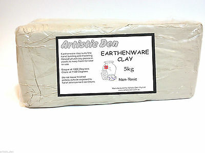 Earthenware Pottery Clay White Clay White Pottery Clay 5kg