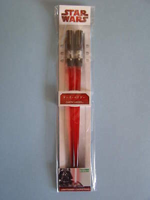 Star Wars Darth Vader Lightsaber Chopsticks. Palillos. Kotobukiya. Nuevos