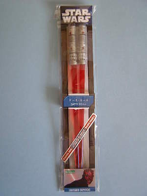 Star Wars Darth Maul Lightsaber Chopsticks. Palillos. Kotobukiya. Nuevos