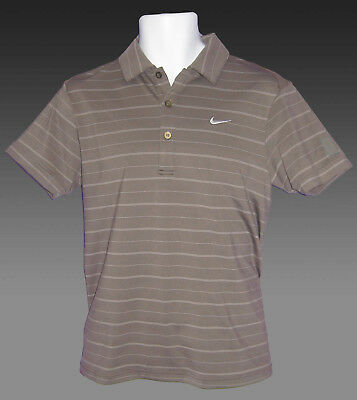 Vintage new NIKE TENNIS DriFit Polo Shirt Fawn S