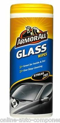 Armorall WINDSCREEN WINDOW Glass Cleaning Screen Wipes LARGE TUB OF 30