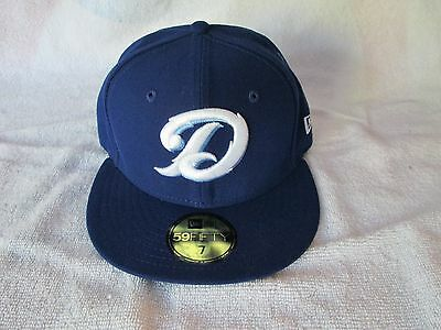New Era Daytona Cubs Home Baseball Hat Cubs Class A 59Fifty Brand Size 7 10502794120