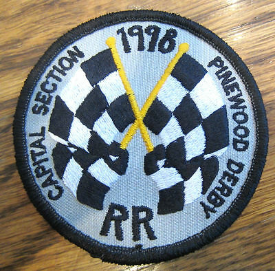Capital Section Rr Pinewood Derby Racing Flags  Royal Rangers Rr Uniform Patch