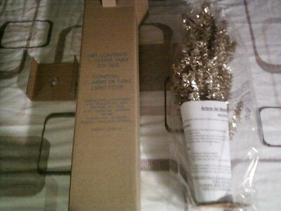 New AVON Gold Table Top Decorative/Christmas Tree