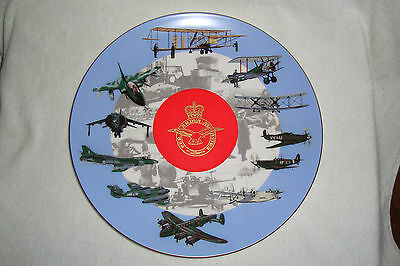 Coalport The Royal Air Force Plate - 70th anniversary - Limited Edition Plate