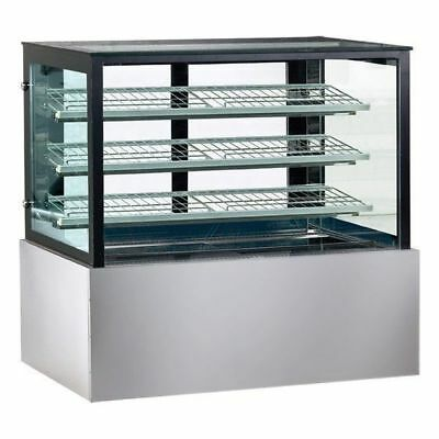 Hot Food Display Unit, Square Heated Cabinet 900x740x1350mm