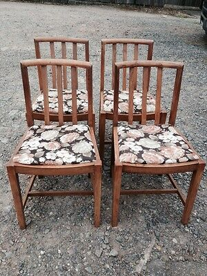 Set Of 4 Vintage Chairs.