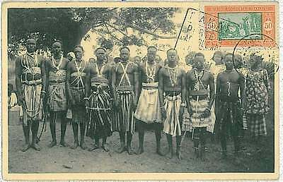 38768 - MAXIMUM CARD: Afrique Occidentale Française French West Africa - ETHNIC
