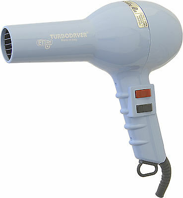 ETI 2000 Professional Hair Dryer Baby Blue 1500W Long Cord, 1 Nozzle, 2 Speeds