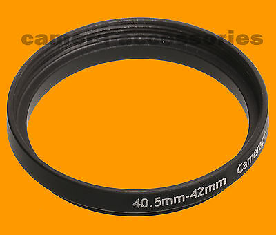 40.5mm to 42mm 40.5-42 Stepping Step Up Filter Ring Adapter 40.5-42mm stepring