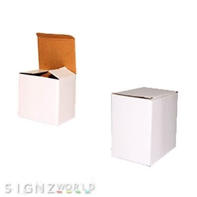 White Mugs GIFT BOXES For 10/11oz Mugs Ideal For Sublimation Or Custom Printing