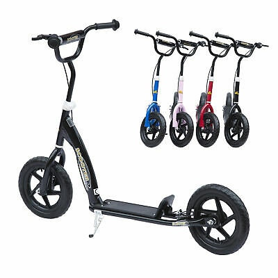 HOMCOM 4 Colours Push Scooter Teen Kids Children Stunt Bike Bicycle Ride On