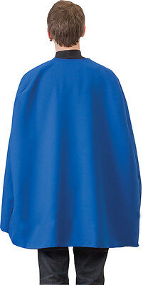Adult Blue Superhero Cape 36 Inches,  One-Size