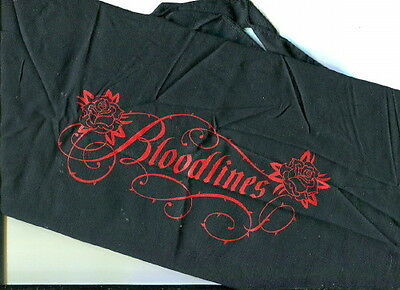 BLOODLINES Vampire Series BLACK CLOTH CARRY BAG Publisher's Promo RICHELLE MEAD