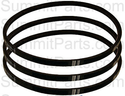 3Pk - High Quality Agitate Belt For Sq - 38174, 38174-O, Lb302, Ap4034872